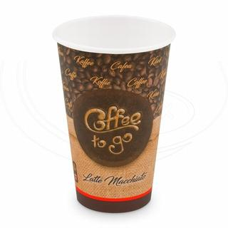 "Papírový kelímek ""Coffee to go"" 510 ml, XL (Ø 90 mm) [50 ks] (76651)"