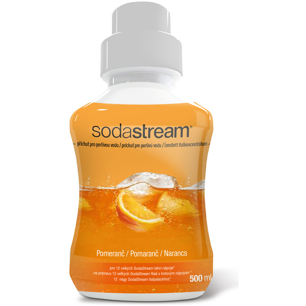 Sirup s příchutí Pomeranč (Orange) 500 ml SODASTREAM