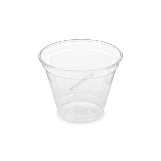 Kelímek z PET 250 ml (Ø 95 mm) [50 ks] (76102)