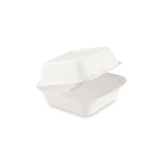 Box na hamburger BIO cukrová třtina 152 x 150 x 78 mm [1 ks] (45506.1)