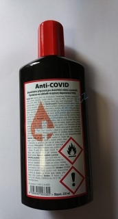 Anti-COVID dezinfekce (gel) 250 ml [1 ks] (Z0582)
